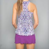 Mosaic Tennis Dress (violet)
