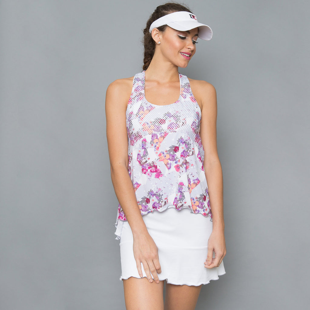 Army of Lovers Tennis Dress (white)