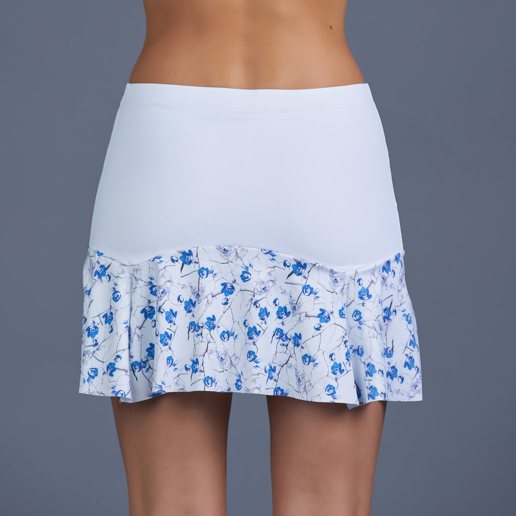 Blues Fontina Skort (white/print)