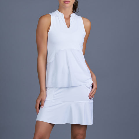 Scotia Golf Dress (white)