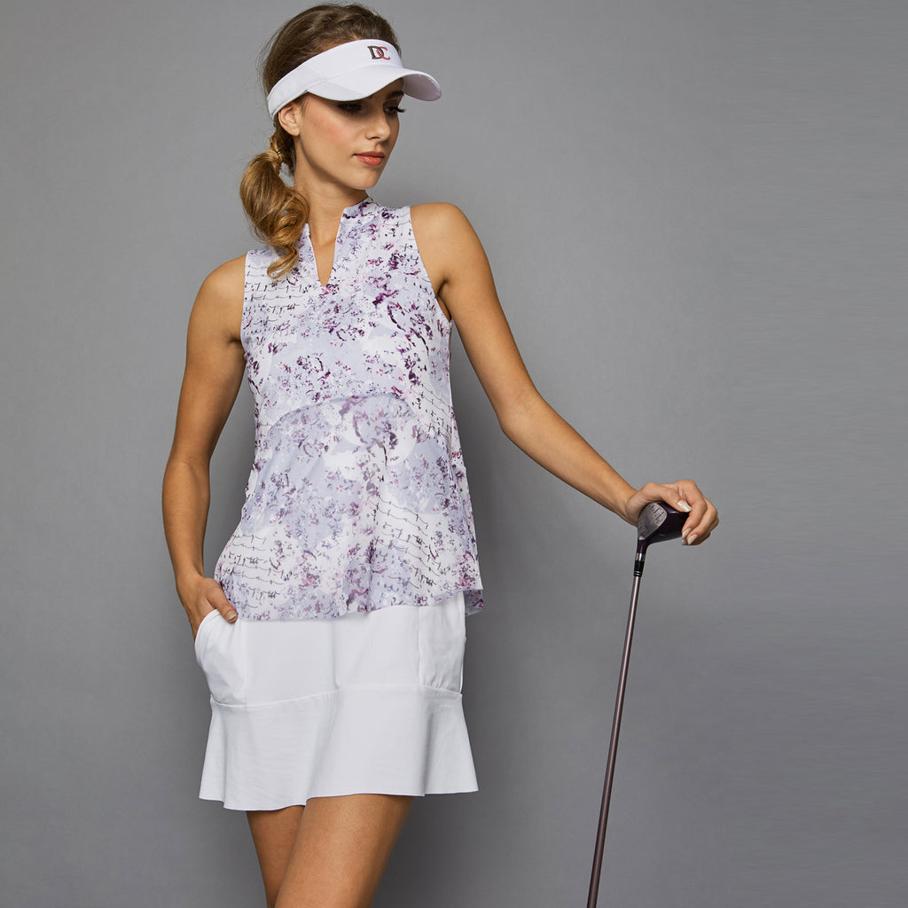 Rhapsody Golf Dress (white)