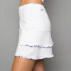 Mosaic Long Skort (white)