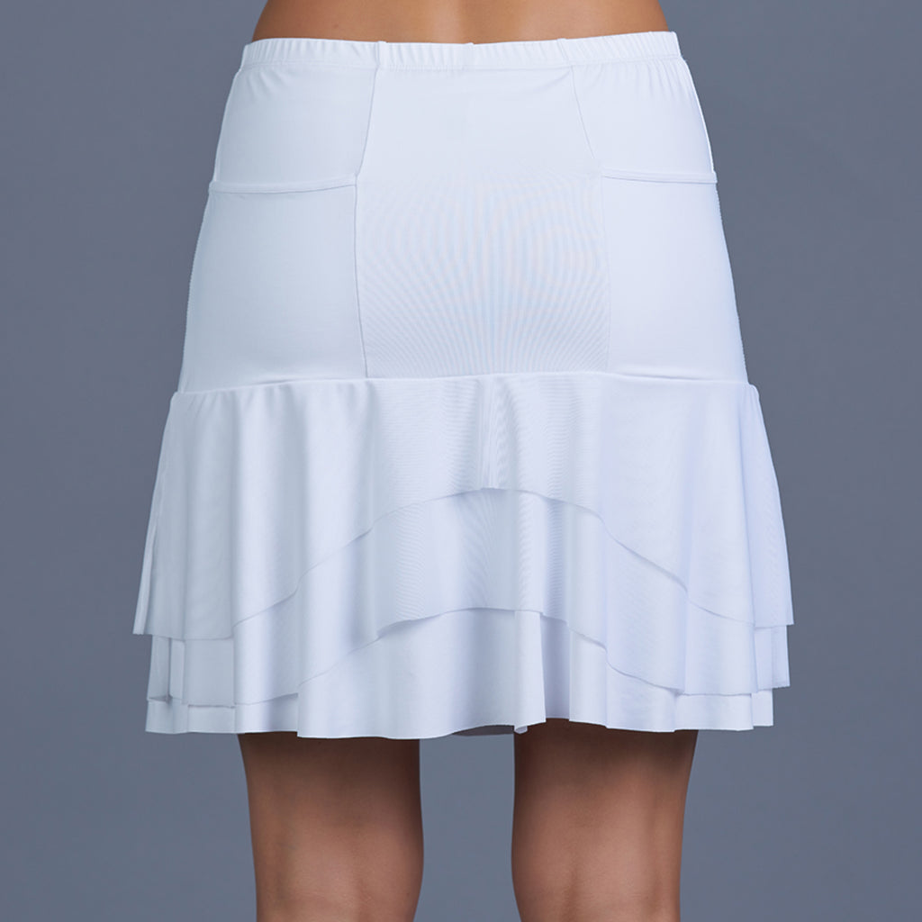 Club Whites Long Skort
