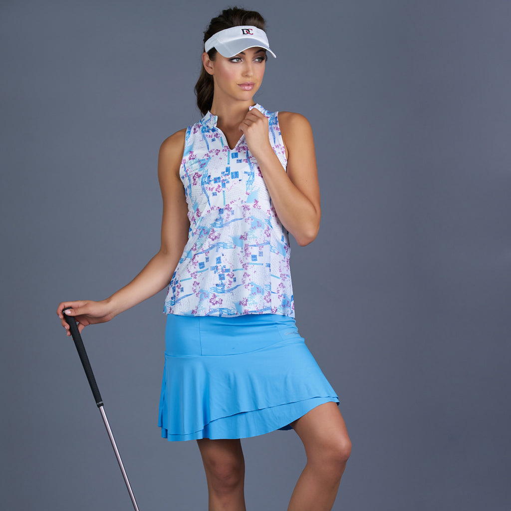 Sisily Long Skort (baby blue)