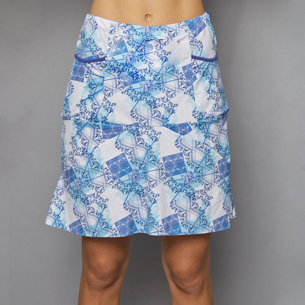 Scotia Long Skort (print)