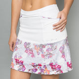 Army of Lovers Long Skort (white)