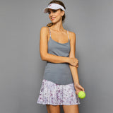Rhapsody Spaghetti-Strap Top (grey)