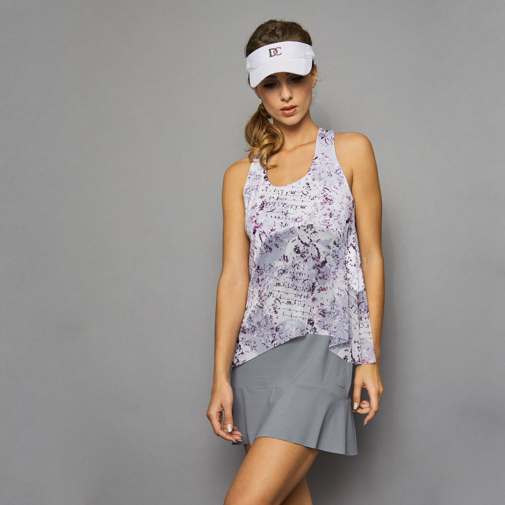 Rhapsody Tennis Dress (grey)