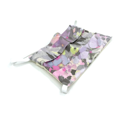 Head-Loop Face Cover - Mulberry Print
