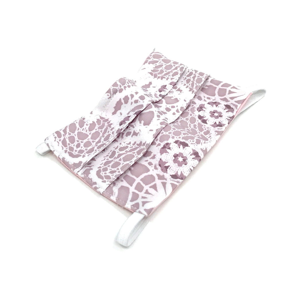 Head-Loop Face Cover - Sienna Print