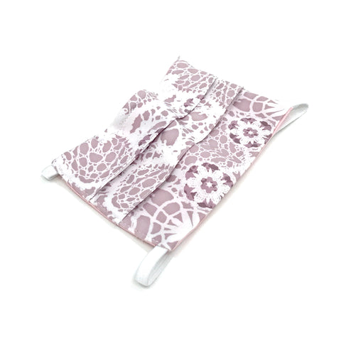 Ear-Loop Face Cover - Mosaic Print