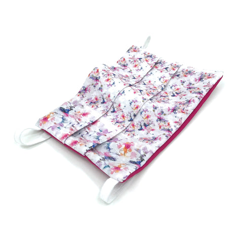 Ear-Loop Face Cover - Cherry