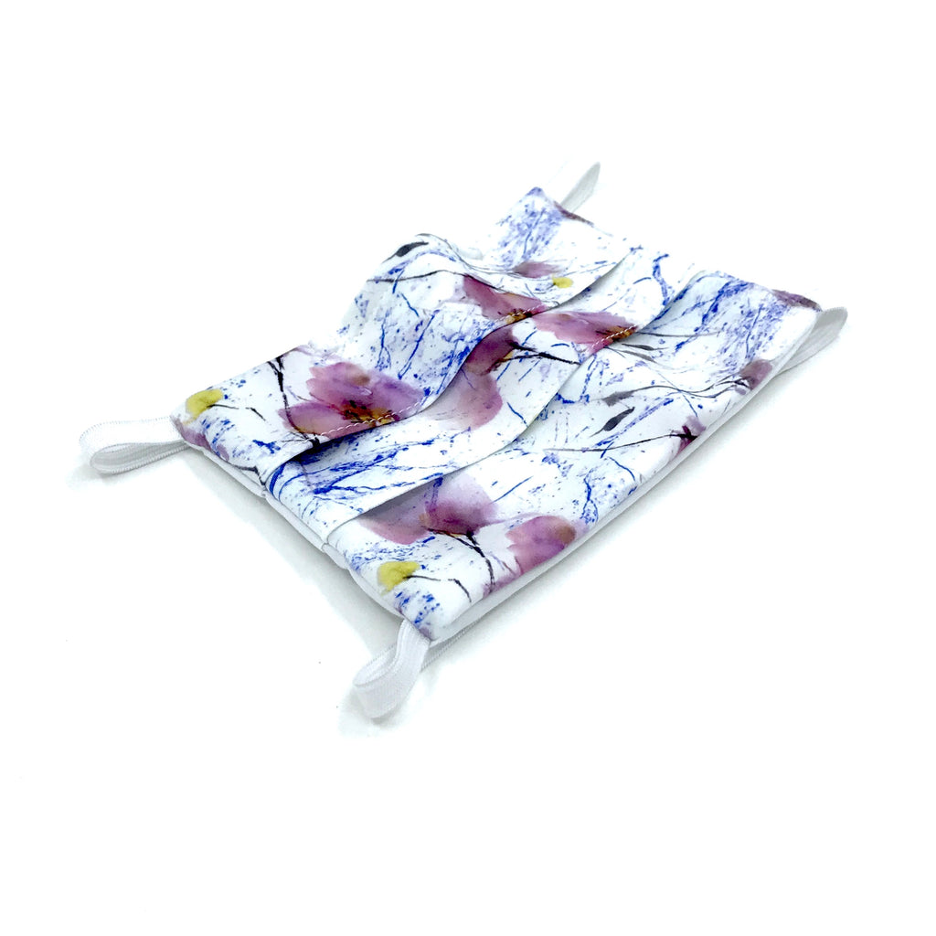 Head-Loop Face Cover - Spring Marble Print