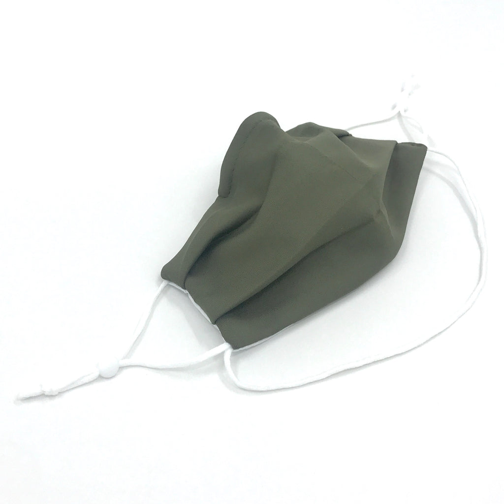 Ear-Loop Face Cover - Army Green