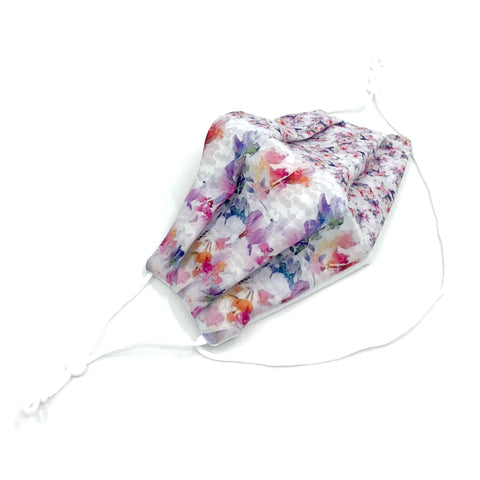 Ear-Loop Face Cover - Rhapsody Print