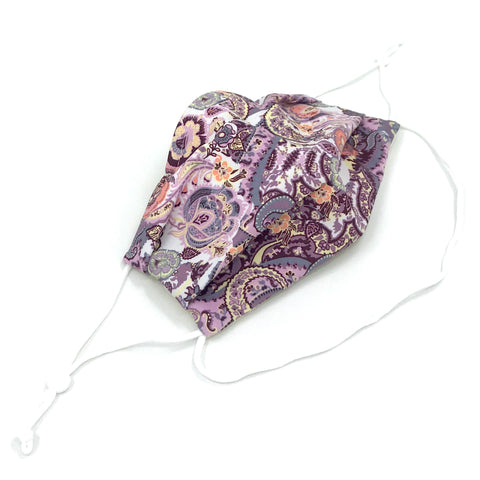 Ear-Loop Face Cover - Patchwork Print