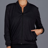 City Etch Sporty Jacket (black)