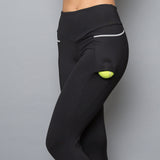 Vivid Dark Inverted Pocket Legging