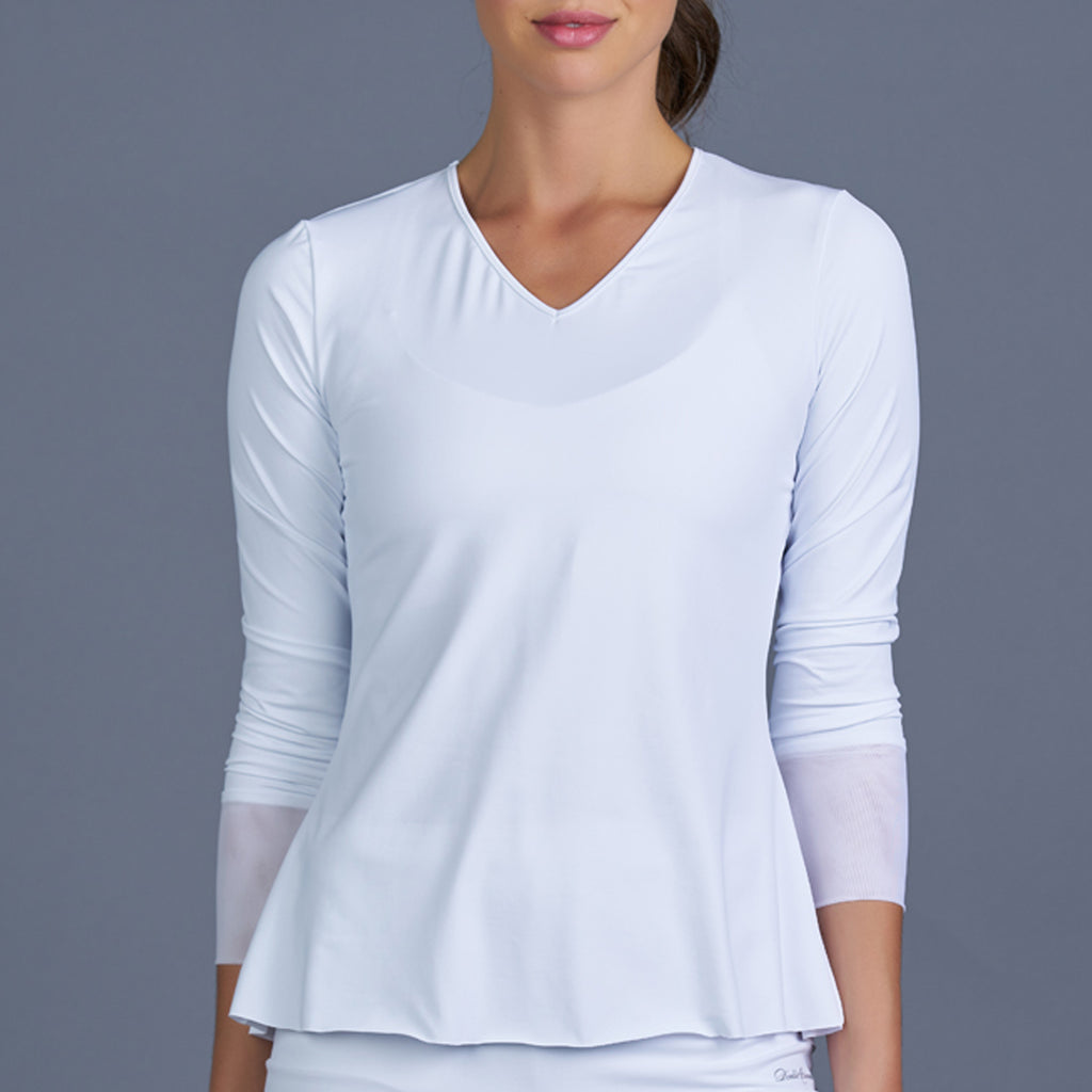 Club Whites Long-Sleeve Top