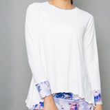 Mystical Long-Sleeve Top (white)