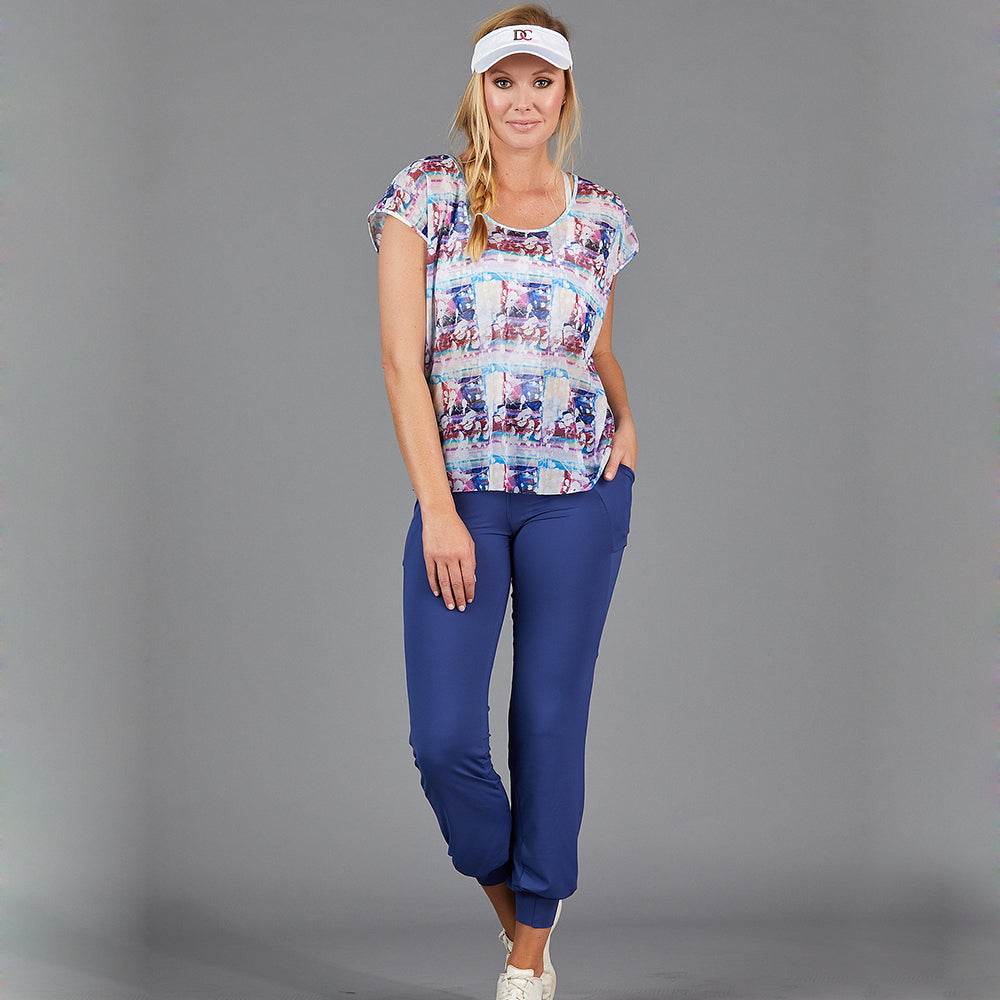Juliette Mesh Layer Tee (print)
