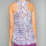 Mosaic Sheer Layer Top