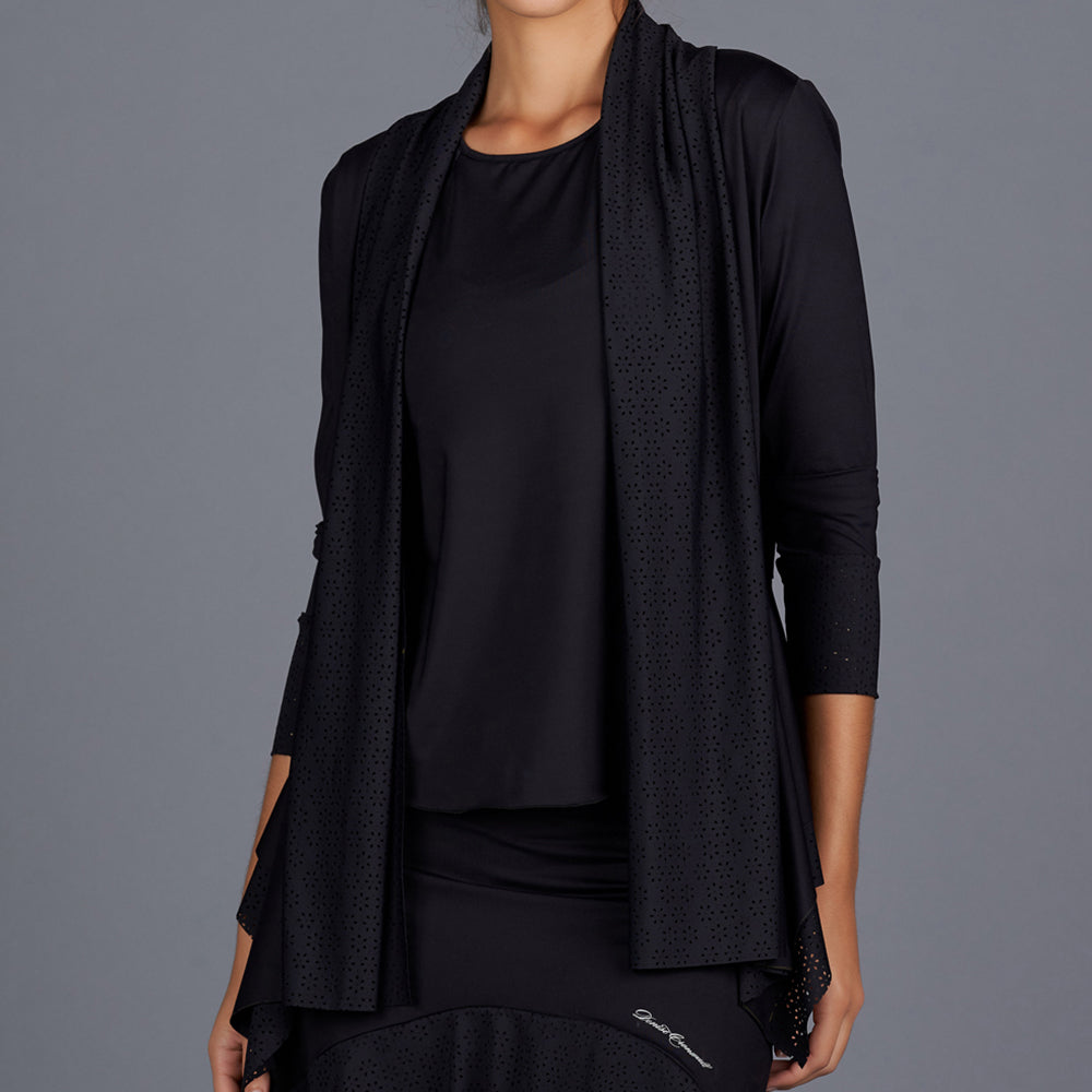 All Season Cardigan (black)
