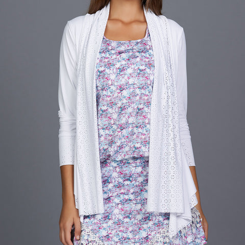 All Season Lacy Jacket (white)