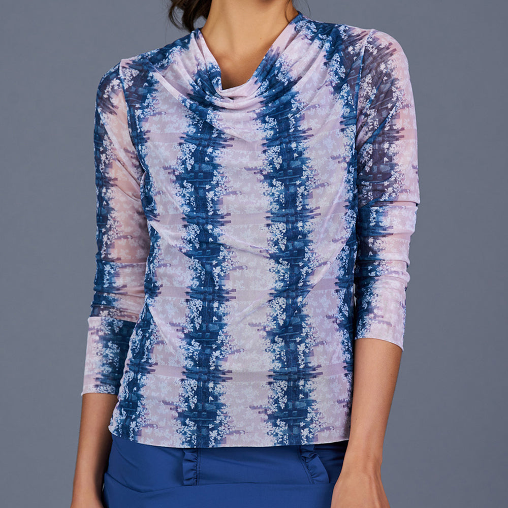 NY Square Sheer Pullover