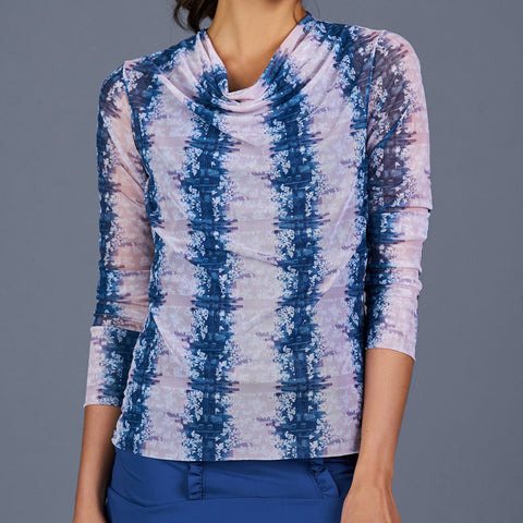 Royal Sport Sheer Pullover Top