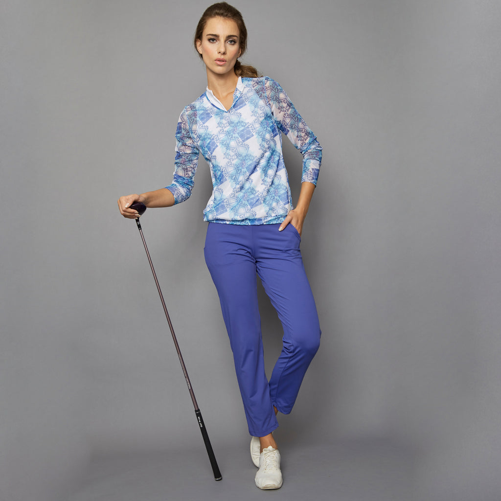 Scotia Crop Pant (blue)