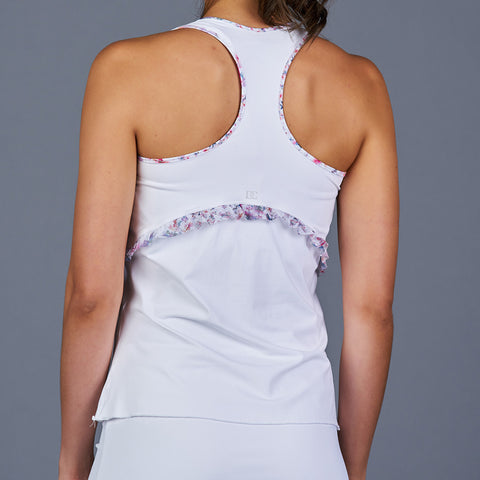 Club Whites Racerback Top