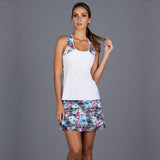 City Etch Racerback Top (white)