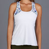 Royal Sport Racerback Top (white/print)