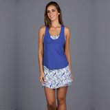 Royal Sport Top (blue/print)