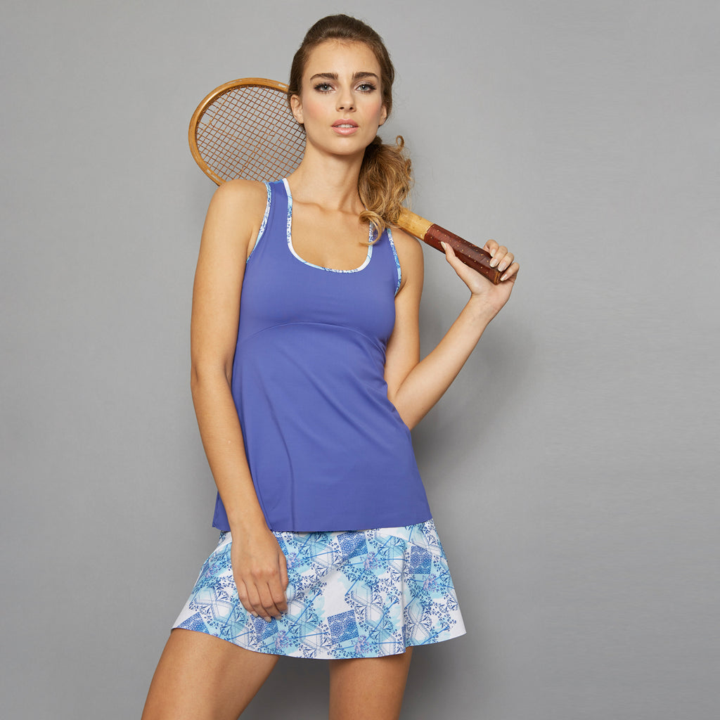 Scotia Racerback Top (blue)