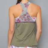 Army of Lovers Racerback Top (green)