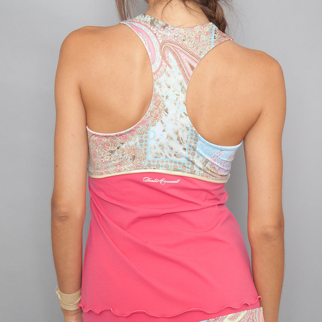 Deco Racer-back Top (red)