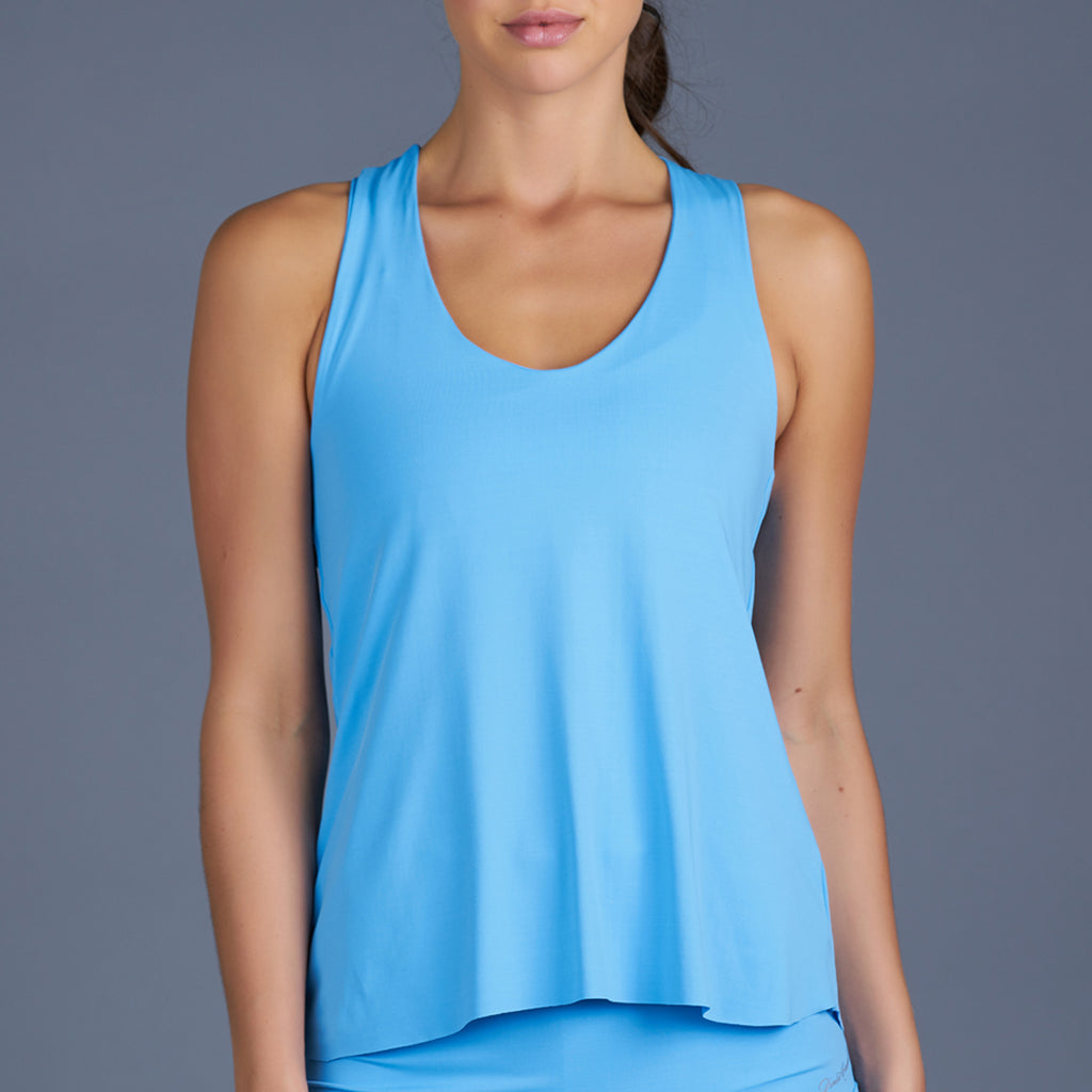 Sisily Racerback Top (baby blue)