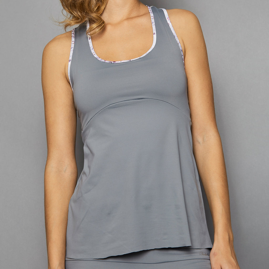 Rhapsody Racerback Top (grey)