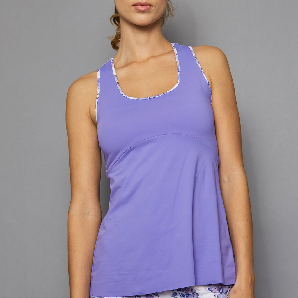 Serenity Racerback Top (lilac)