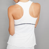 Villia Racer-back Top (white)