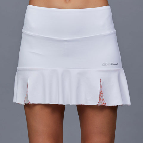 "City Etch Eliza 15"" Skort (white/print)"