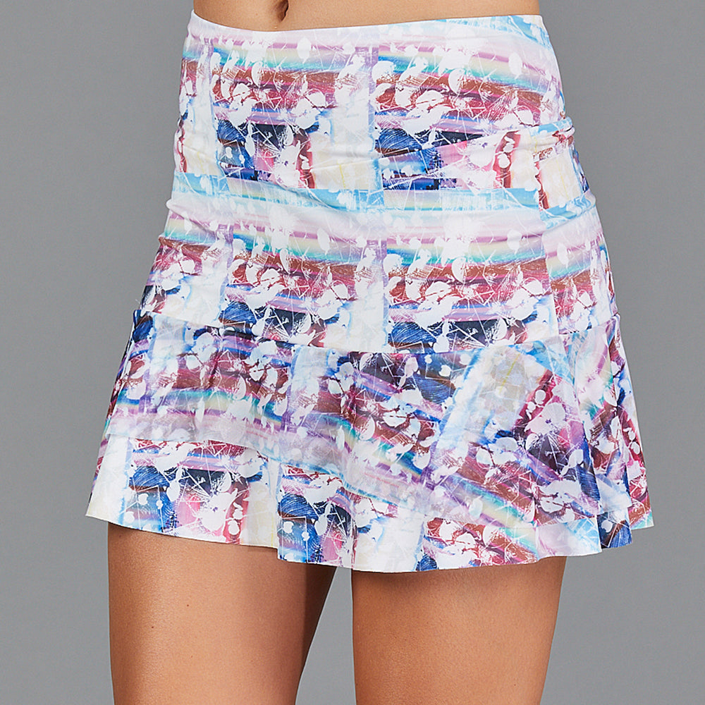 "Juliette Two Tier 15"" Skort (print)"