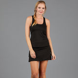 Jade Straight Skort (black)