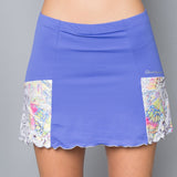 Edge Pocket Skort (blue)