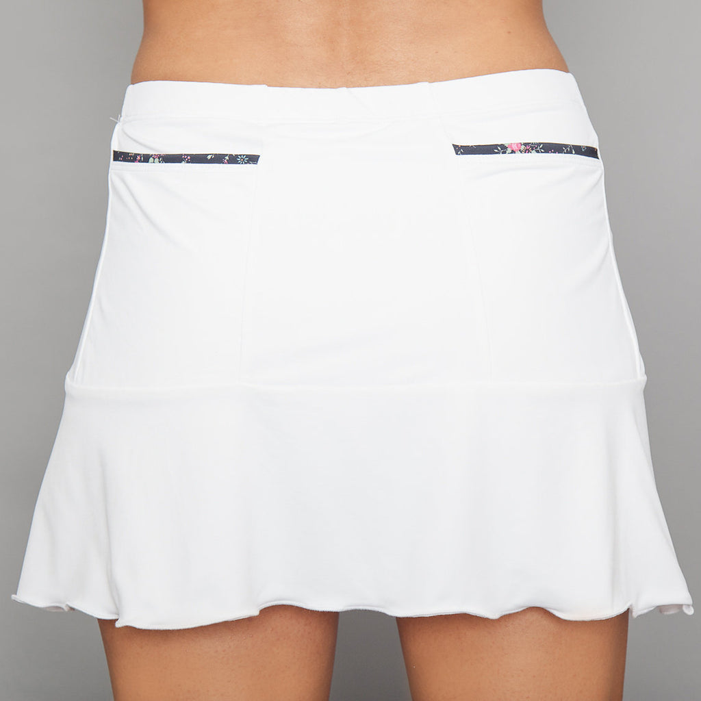Villia Pocket Skort (white)