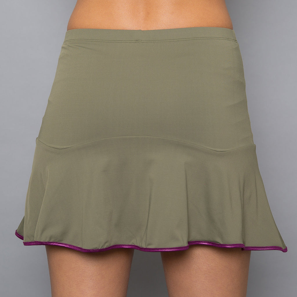 Army of Lovers Solid Skort (green)