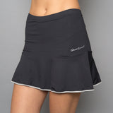 Vivid Dark Solid Skort (black)