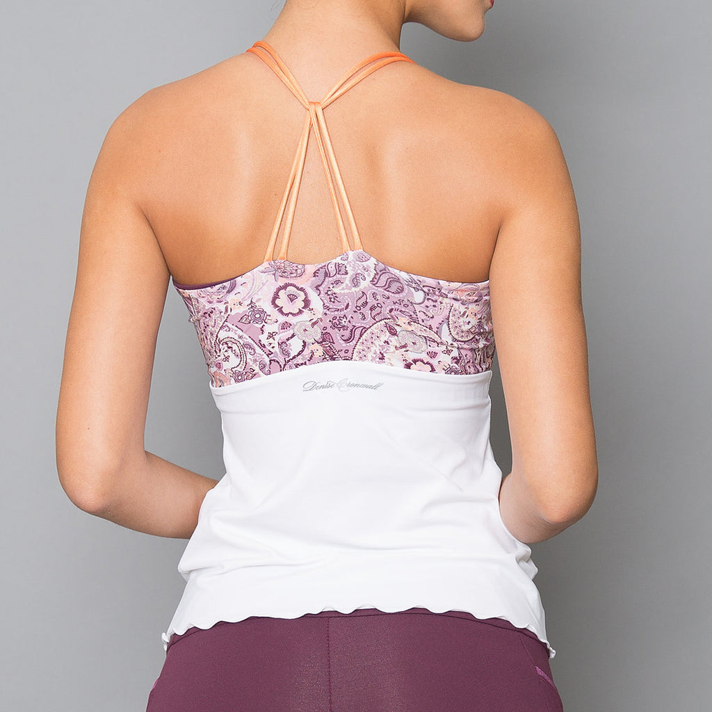 Mulberry Spaghetti-Strap Top